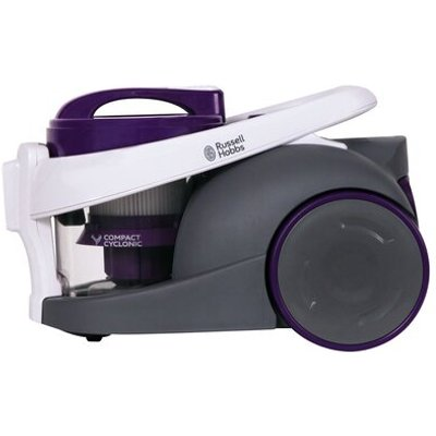 700W Compact Bagless Cylinder Canister Vacuum, Purple