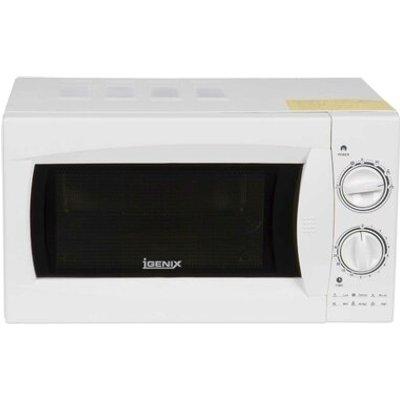 Igenix 20l Wht Manual Microwave S s Cav 800w - 5016368021095