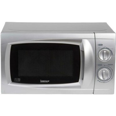 20L 700W Countertop Microwave in Silver - 5016368048177