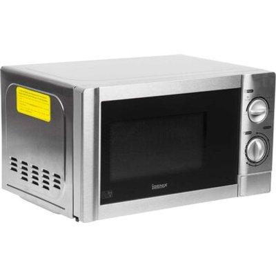 Igenix 20l Manual Stainless Steel Microwave - 5016368044308