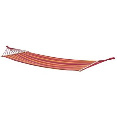 Samba Hammock with Spread Pole, Red / Orange / Yellow