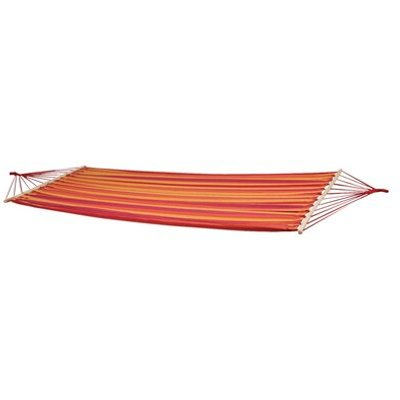 Santa Barbara Hammock with Spread Pole, Red / Orange / Yellow