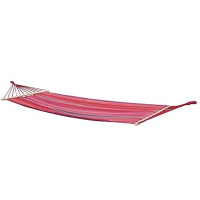 Santa Barbara Hammock with Spread Pole, Red / Orange / Purple