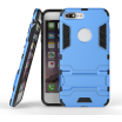 Blue Slim Robot Armor Kickstand Shockproof Hard Rugged Rubber Back Case For IPHONE 7 PLUS