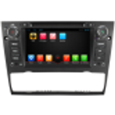 HD 7inch 1din in dash headunit car dvd gps navigation player multimedie for BMW for E90 subwoofer canbus