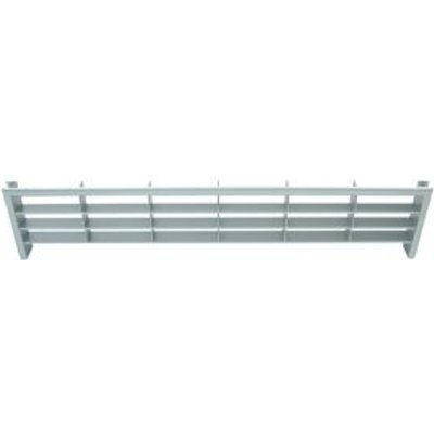 03360118 | IT Kitchens Silver Ventilation Grill  H 60mm  W 389mm