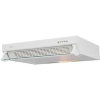 3663602842378 | Cooke   Lewis CLVHW60 White Steel Visor Cooker Hood   W  600mm
