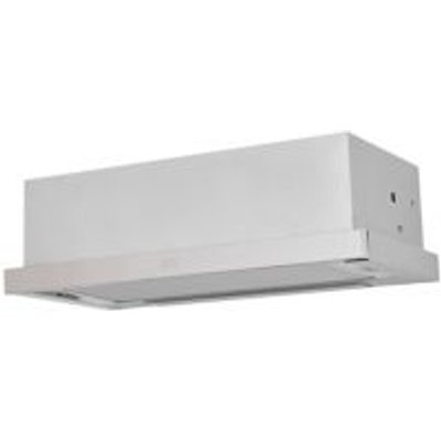 Cooke   Lewis CLTHS60 Inox Stainless Steel Telescopic Cooker Hood   W  600mm - 3663602842422