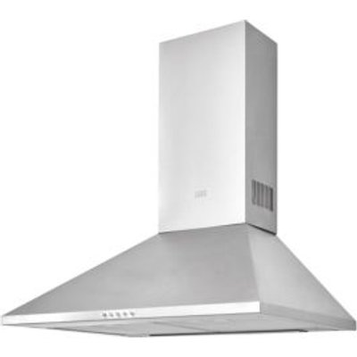 3663602842521 | Cooke   Lewis CLCHS60 Inox Stainless Steel Chimney Cooker Hood   W  600mm