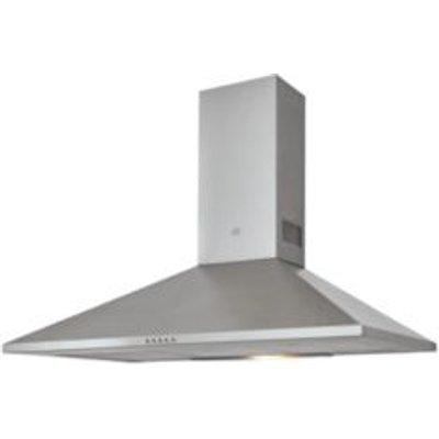 Cooke   Lewis CLCHS90 Inox Stainless Steel Chimney Cooker Hood   W  900mm - 3663602842538