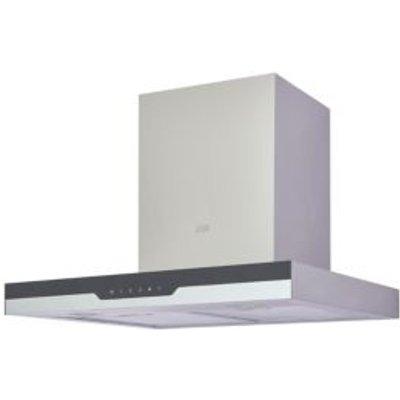 Cooke   Lewis CLBHS60 Black Steel   Glass Box Cooker Hood   W  600mm - 3663602842576