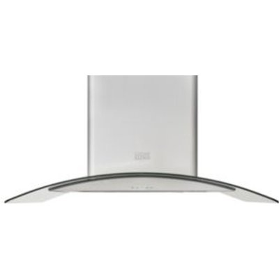 Cooke   Lewis CLICGS60 Inox Stainless Steel Island Curved Cooker Hood   W  900mm - 3663602842651
