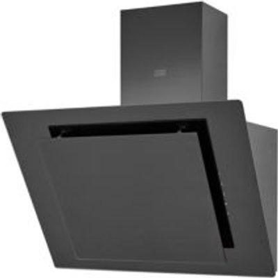 Cooke   Lewis CLAGB60 Black Glass Angled Cooker Hood   W  600mm - 3663602842675