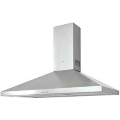Cooke   Lewis CLCHS100 Stainless Steel Chimney Cooker Hood   W  1000mm - 3663602842743