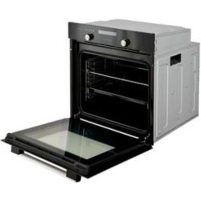 Cooke   Lewis CLMFBL Black Electric Multifunction Single Oven - 3663602842835