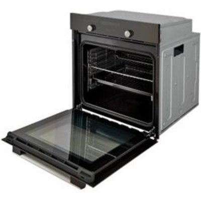Cooke   Lewis CLMFMI Black Electric Multifunction Single Oven - 3663602842842