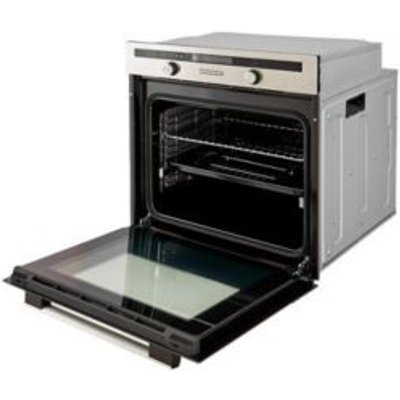 Cooke   Lewis CLMFST Grey Electric Multifunction Single Oven - 3663602842859
