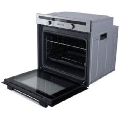 Cooke   Lewis CLPYST Grey Electric Pyrolytic Single Oven - 3663602842866