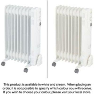 Electric 2000W Beige Oil filled radiator - 3663602910831