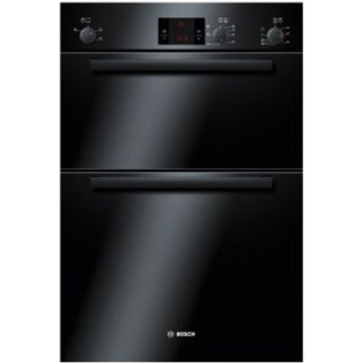 Bosch HBM13B261B Black Electric Eye Level Double Oven - 4242002486086