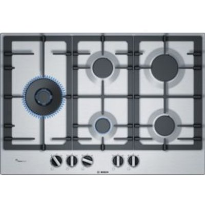 Bosch PCS7A5B90 Gas Hob  Stainless Steel - 4242002837505