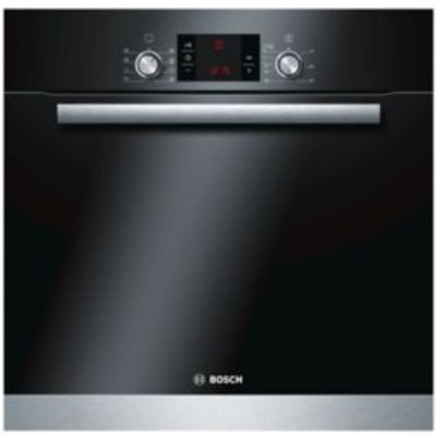 Bosch HBA63B152B Brushed Steel Electric Pyrolytic Single Oven - 4242002882192