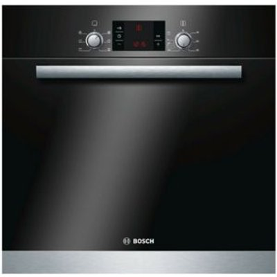 Bosch HBA23B152B Black   Silver Electric Single Oven - 4242002898308