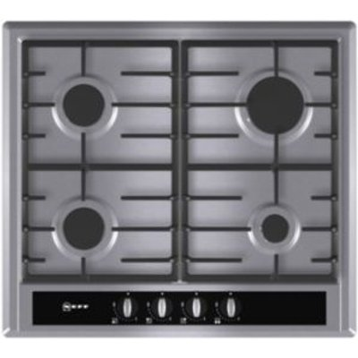 4242004126126 | Neff T23S36N0GB 4 Burner Stainless Steel Gas Hob