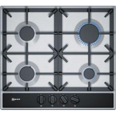 4242004179054 | Neff T26DA49N0 4 Burner Black Stainless Steel Gas Hob