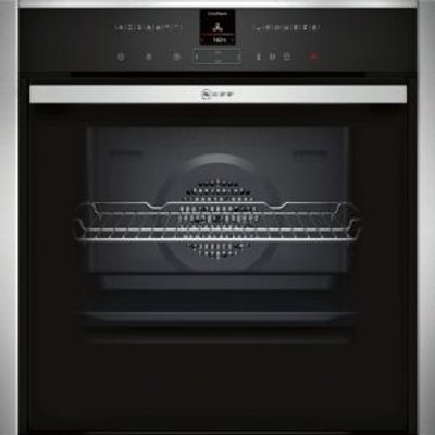 Neff B57VR22N0B Single Pyrolytic Oven   Stainless Steel - 4242004181965
