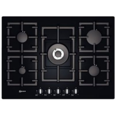 4242004183167 | Neff T63S46S1 5 Burner Black Tempered Glass Gas On Glass Hob