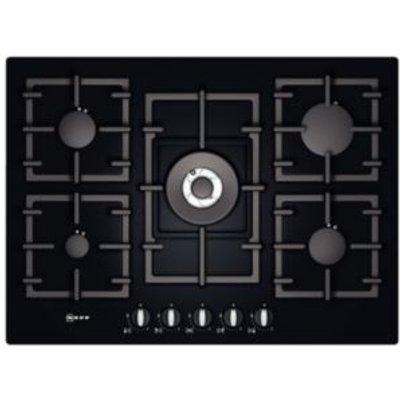 Neff T63S46S1 5 Burner Black Tempered Glass Gas On Glass Hob - 4242004183167