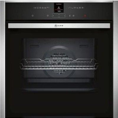 4242004197263   Neff B17CR32N1B single ovens  in Stainless Steel