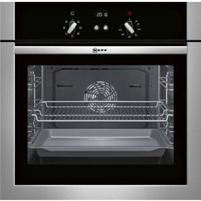 4242004200581   Neff B14M42N5GB Stainless Steel Electric Single Oven