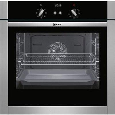 Neff B44M42N5GB Stainless Steel Electric Slide   Hide Single Oven - 4242004200925