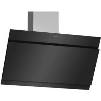 4242004210221 | Neff D95IHM1S0B Glass   Stainless Steel Modern Chimney Cooker Hood   W  890mm