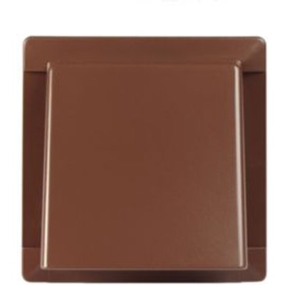 5020953930747 | Manrose Brown External Hooded Wall Vent  W 110mm