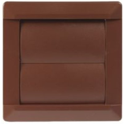5020953930785 | Manrose Brown External Flap Wall Vent  W 110mm