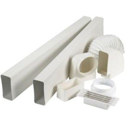 Manrose V7227 Cooker Hood Flat Channel Vent Kit - 5020953931065