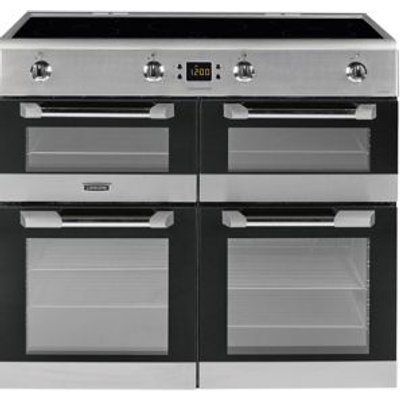 Leisure CS100D510X Induction Range Cooker  Stainless Steel - 5023790036733