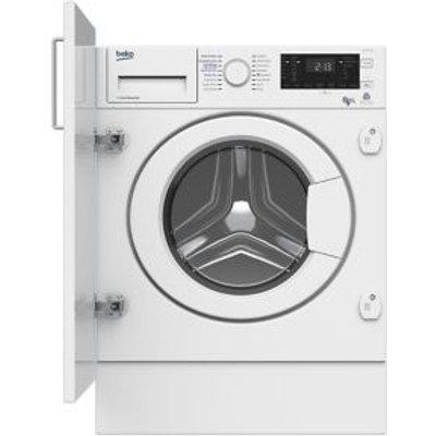 Beko WDIY854310 White Built In Washer Dryer - 5023790036825