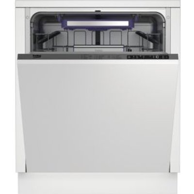 Beko DIN28Q20 Integrated Full Size Built In Dishwasher Stainless Steel - 5023790037242