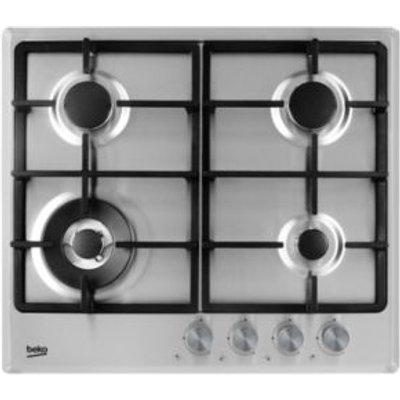 5023790038362 | Beko HCMW64225SX 4 Burner Stainless Steel Gas Hob
