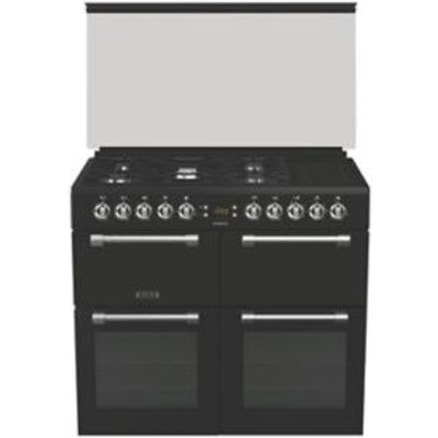 Leisure Freestanding Dual Fuel Range Cooker with Gas   Electric Hob  CC100F521K - 5023790041485