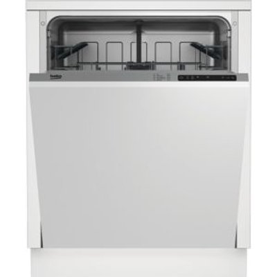 Beko DIN15211 Integrated Full Size Dishwasher  White - 5023790041713