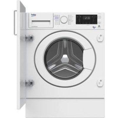 Beko WDIY854310F White Built In Washer Dryer - 5023790043366