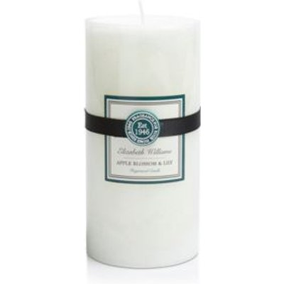 Elizabeth Williams Apple Blossom   Lily Pillar Candle - 5024418910718