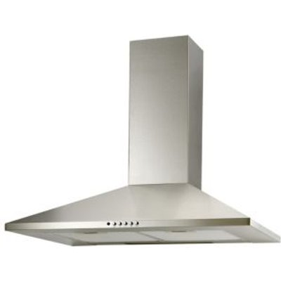5052931055616 | Cooke   Lewis CLCH90SS C Stainless Steel Chimney Cooker Hood   W  900mm