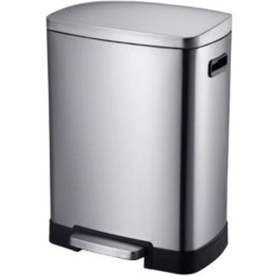 5052931308903 | Cooke   Lewis Stainless Steel Rectangular Recycle Pedal Bin
