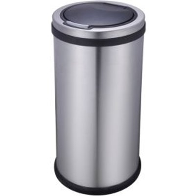 5052931310531 | Cooke   Lewis 30 L Stainless Steel Touch Top Kitchen Bin